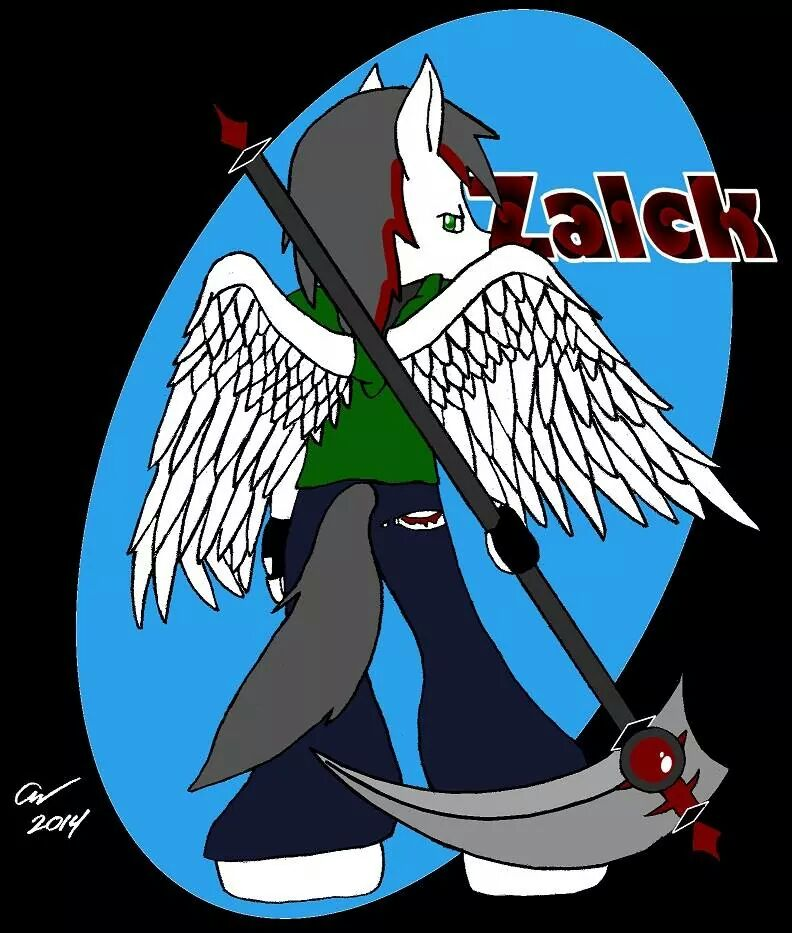 gift art: Zalck the horse