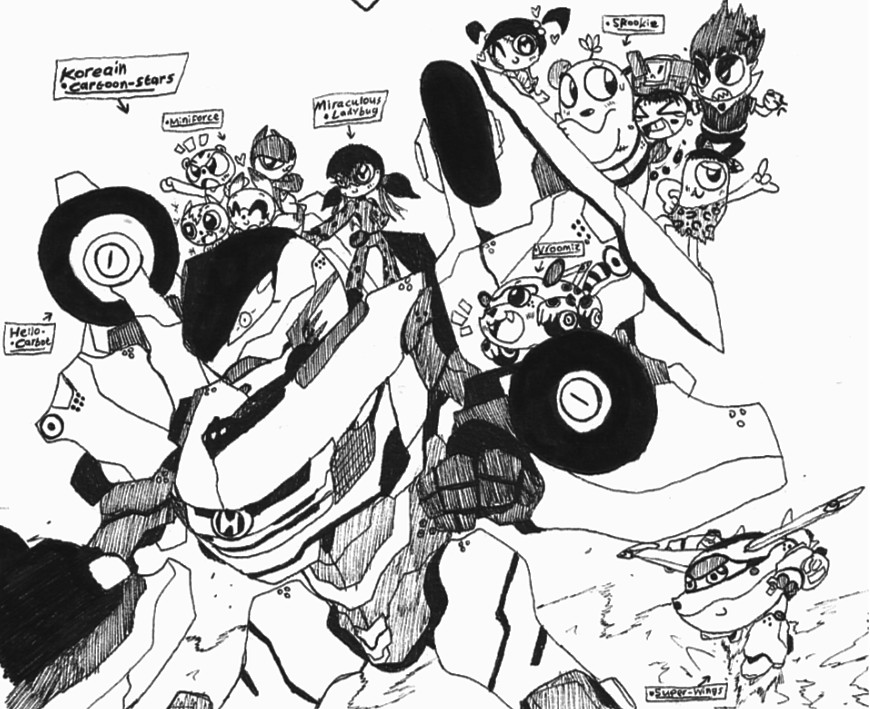 Korean Cartoon-Stars