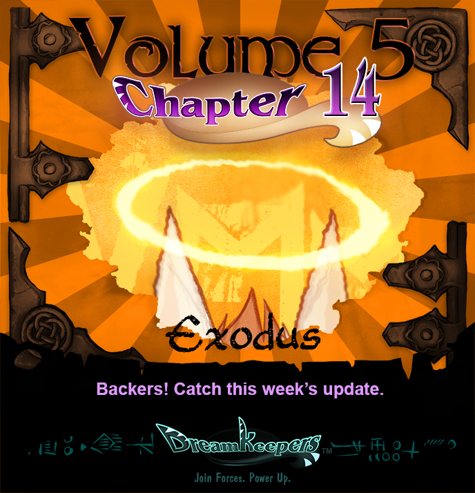Volume 5 page 64 Update Announcement