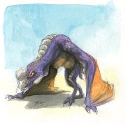 Inktober #23 - Lerk