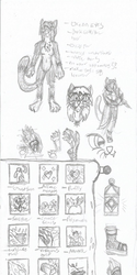 Misc Sketches: Shinskii and Spells