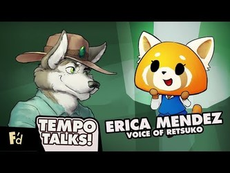 Erica Mendez (voice of Retsuko) on Tempo Talks