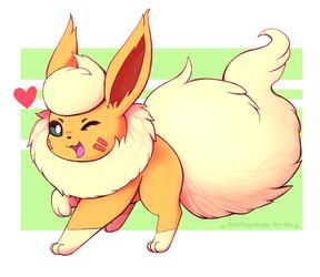 Kitsu The Flareon - Pokemon Sona