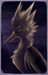 Big Bird's Angry Cousin
