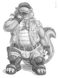 [Commission] Military Gator