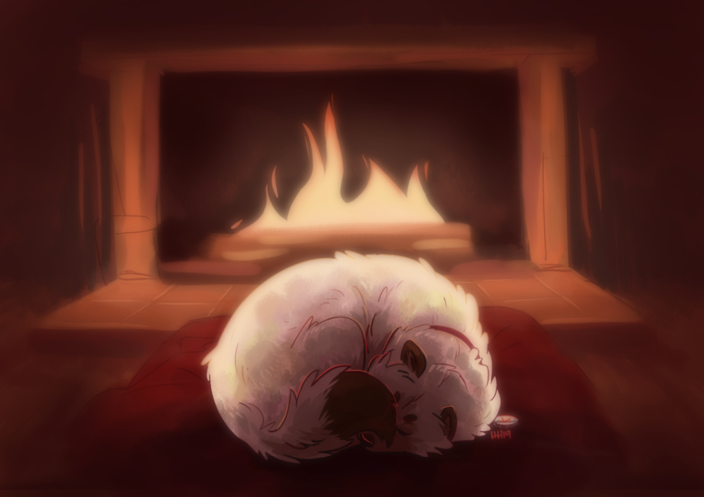 Cozy Fire by Hhazard