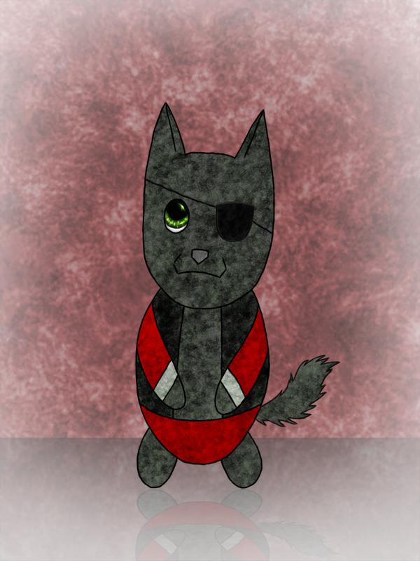 Chibi Demowolf by Waffy