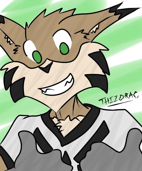 Thumbs Up! (FoxzombieJ)