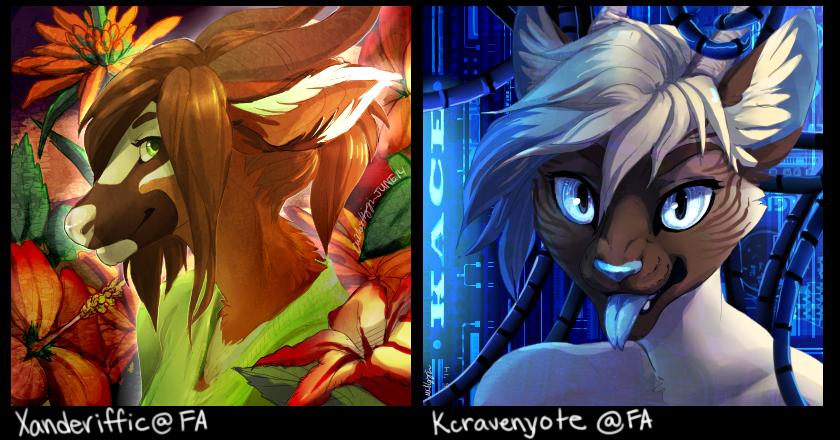 2k14 Icons: Xanderiffic & Kcravenyote