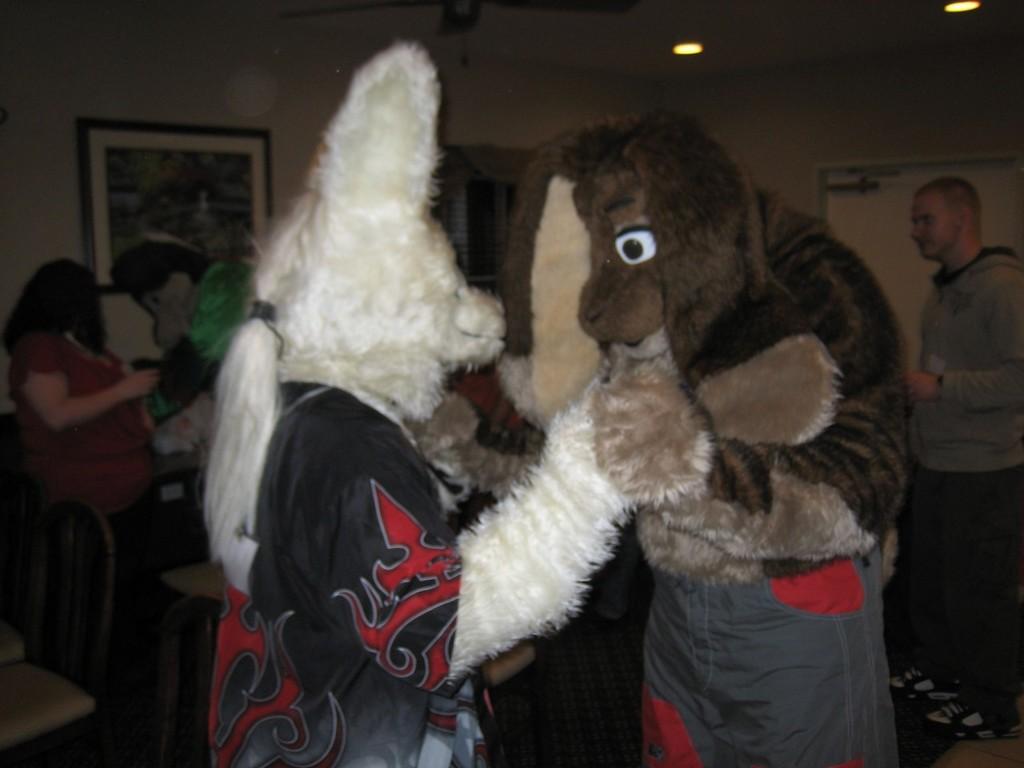 Bunny dancing (LAFF NYE '07)