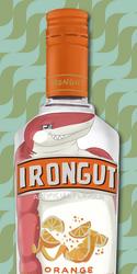 Bottle Badge - Irongut