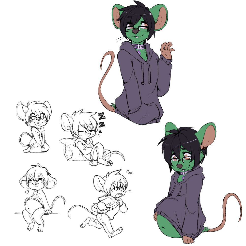 Eric sketch page ~