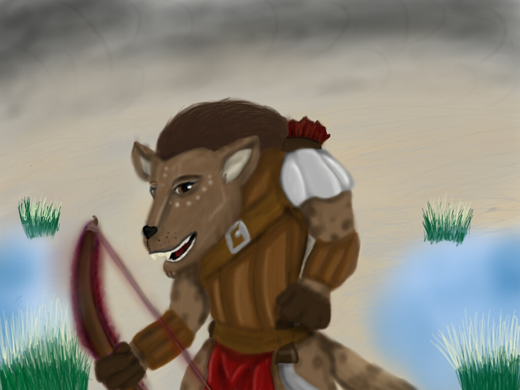 Most recent image: Gnoll Ranger