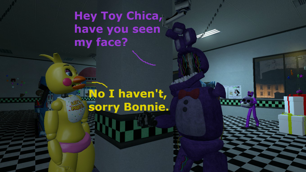 Most recent image: Gmod: The Thief of Bonnie's Face