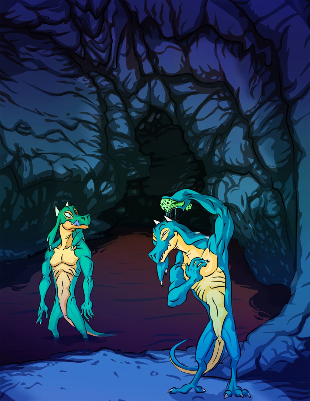 Reptile duo's Grotto (Cool)