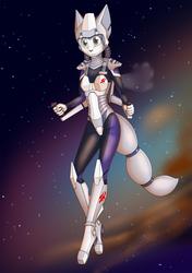 Commission: Krystal in Space