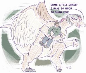 Dragon Transformation Chronicle - Big & Small