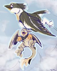 Flying dorks