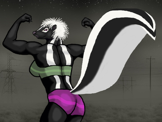 Muscle skunk vllainess