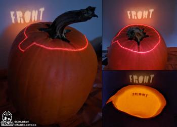 2020: Front Back Pumpkin