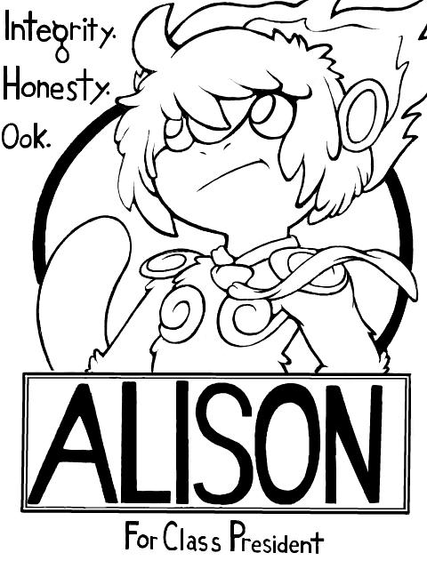 VOTE ALISON