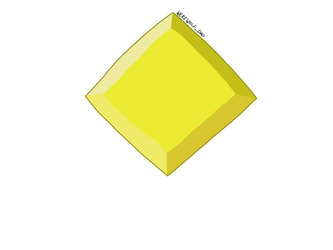Yellow diamond's gemstone
