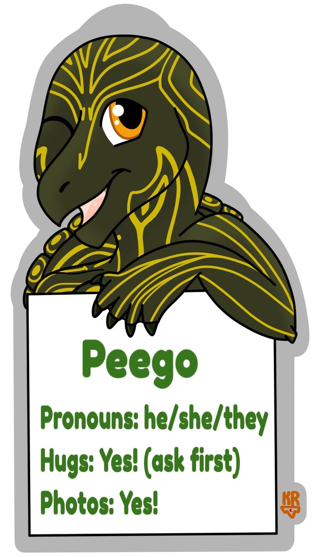 Peego Consent Badge