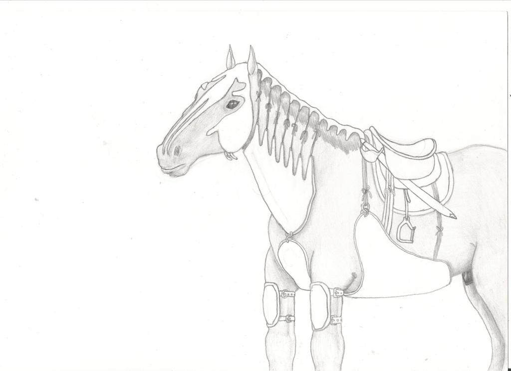 Most recent image: -OLD- war horse sketch
