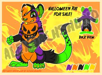 Halloween Rat for Sale: $35
