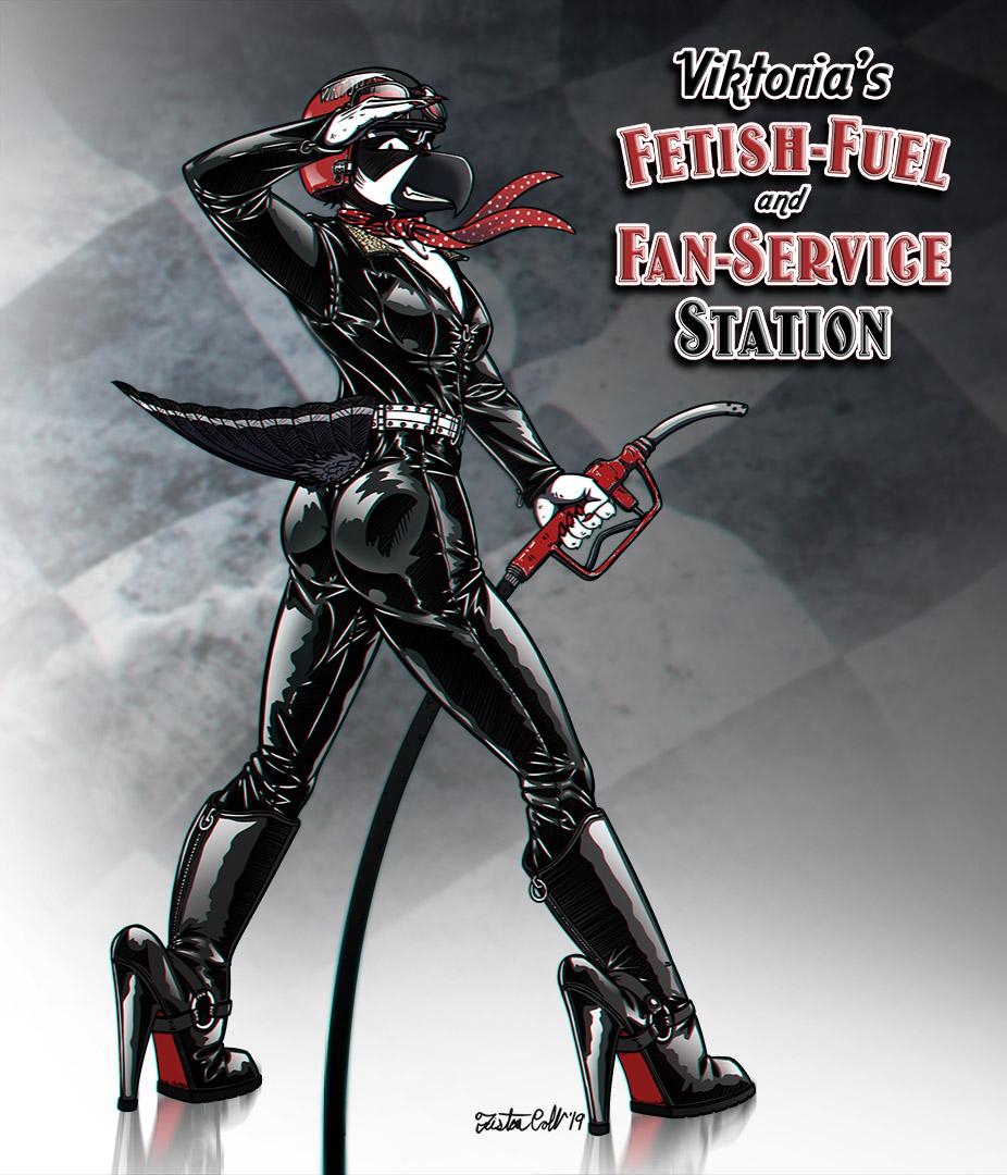 Viktoria - High Octane Fetish Fuel!