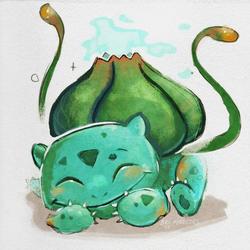 Pokemon A Day 001- Bulbasaur
