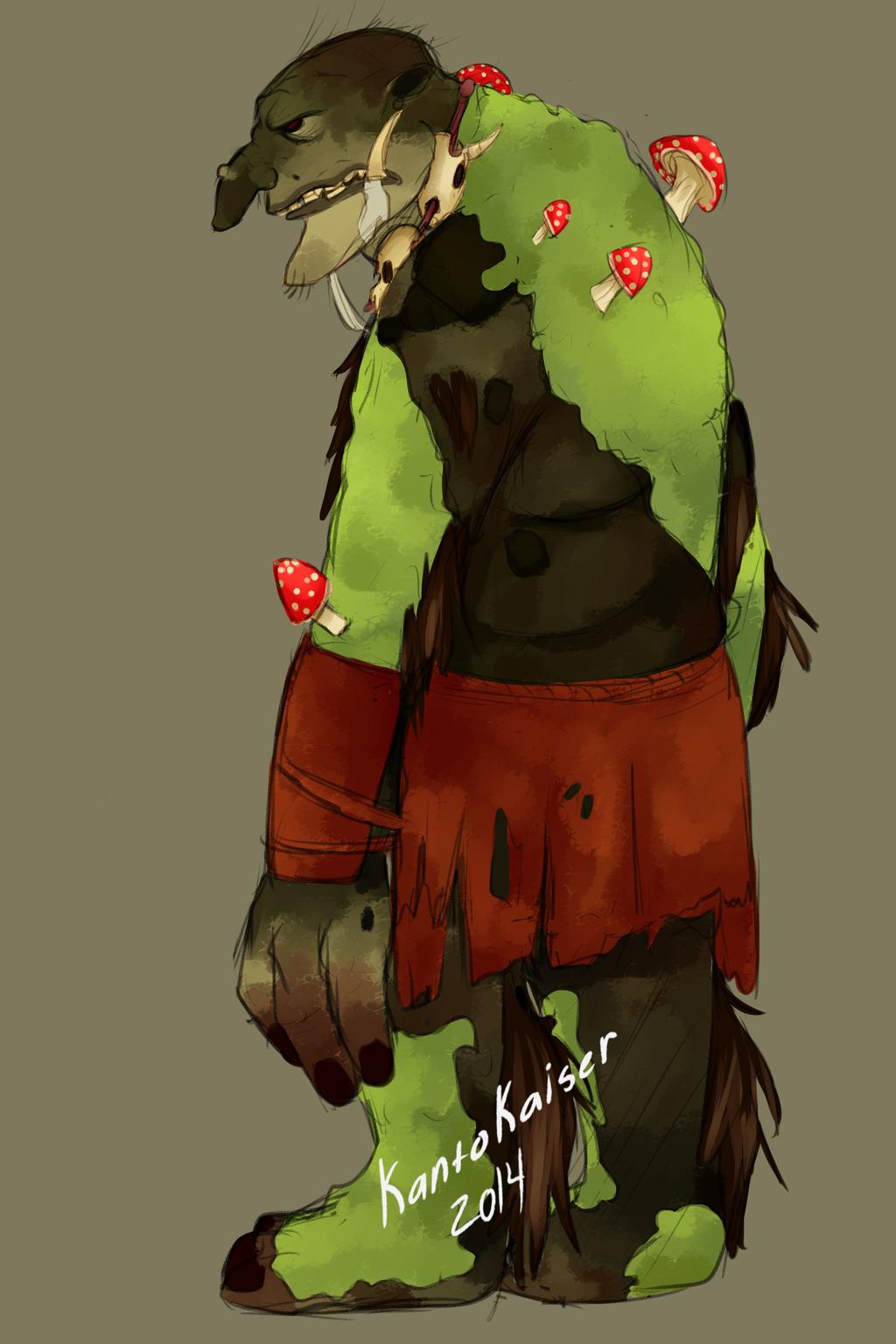 Swamp Troll