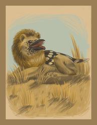 Nightjar Lion Griffin