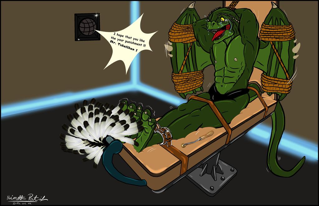 The fallen Sargorn's punishment