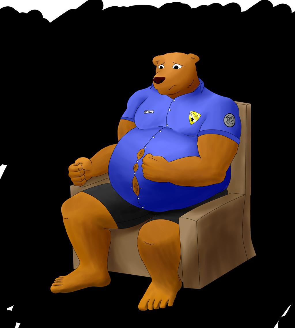 Fat bear police