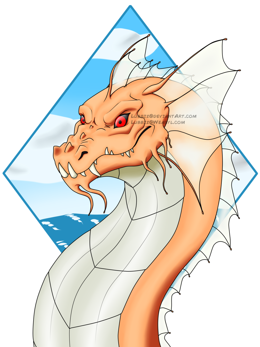 Water dragon ((COMMISSION))