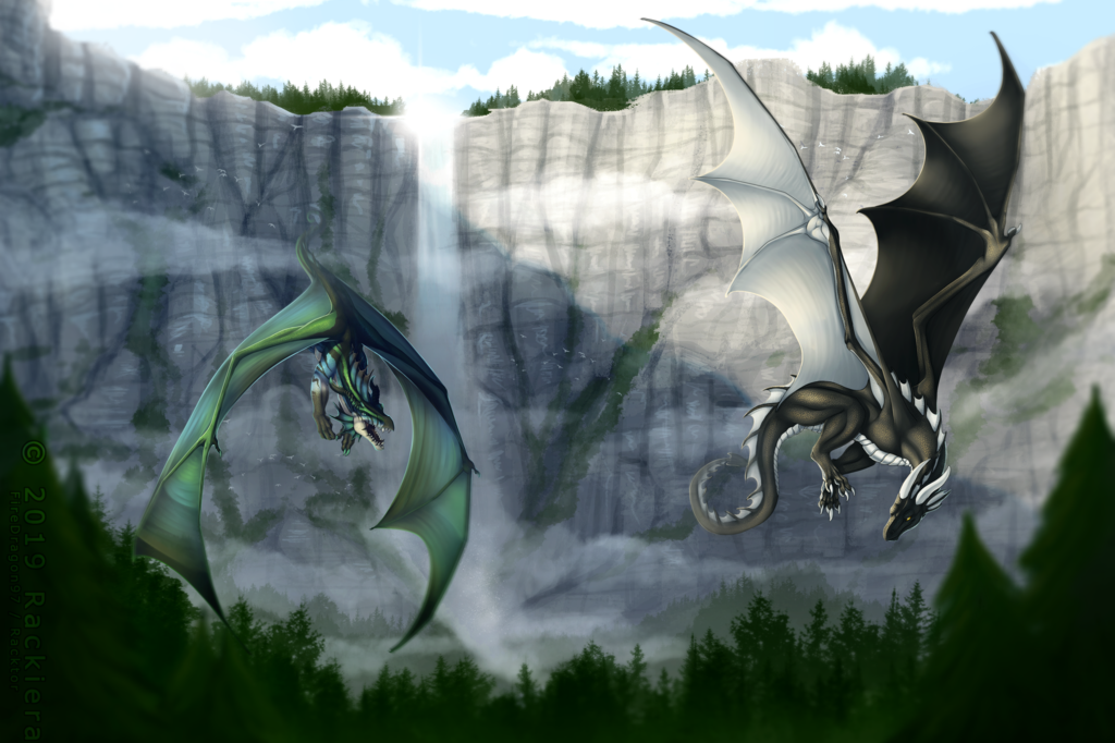 Most recent image: Commission - Race to the Finish