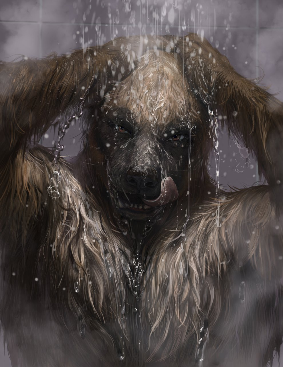 All Wet, Part Two - by Loculi