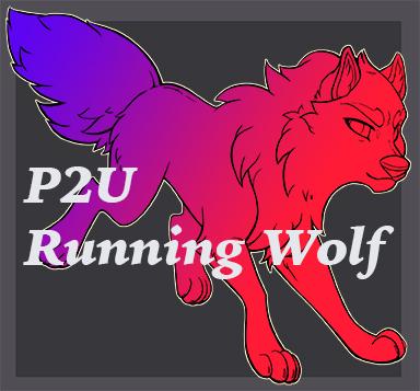 Most recent image: p2u Running Wolf base