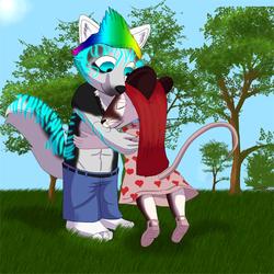 Hugs for lil sis <3