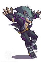 [COMMISSION] Fargus the Hedgehog