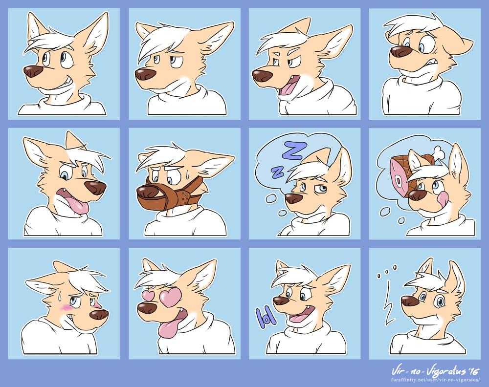 Avery Telegram Sticker Pack