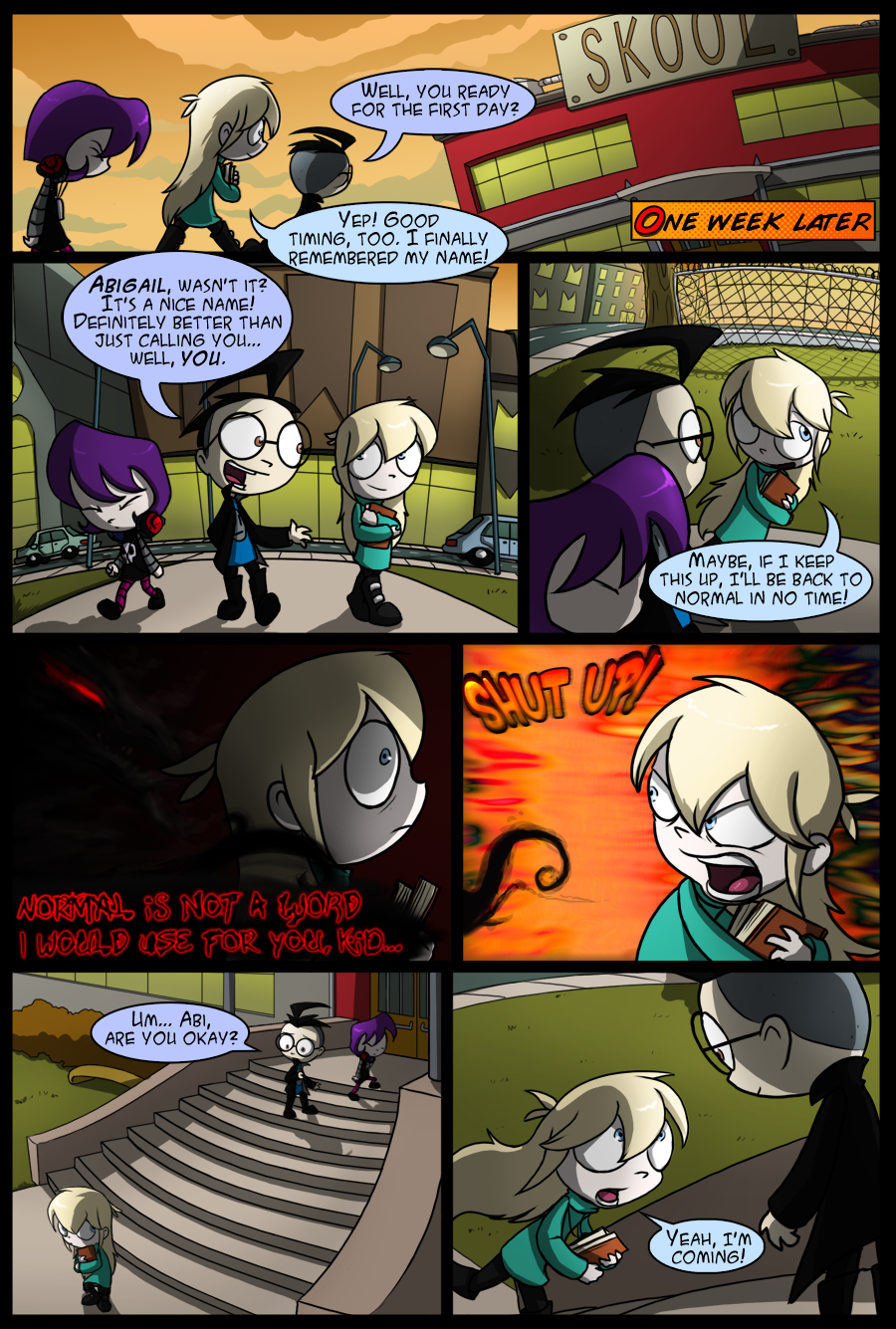 Duality Chapter 2 - Page 1