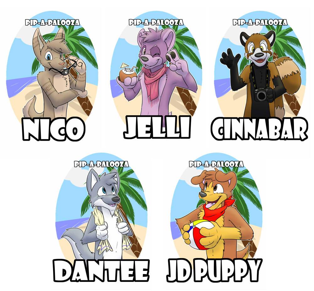 Pip-a-palooza badges!