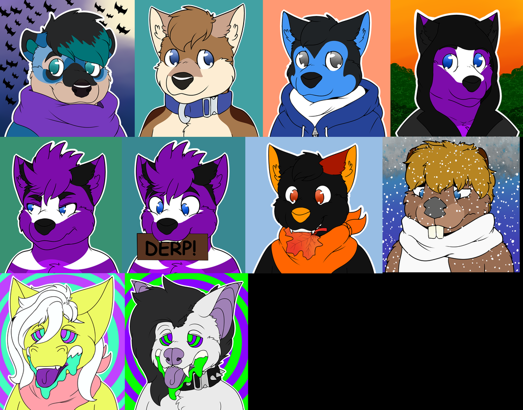 [C] YCH Icons set 4!