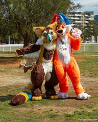 FurJAM 2018: Maliblue and Ozzi Foxy 1