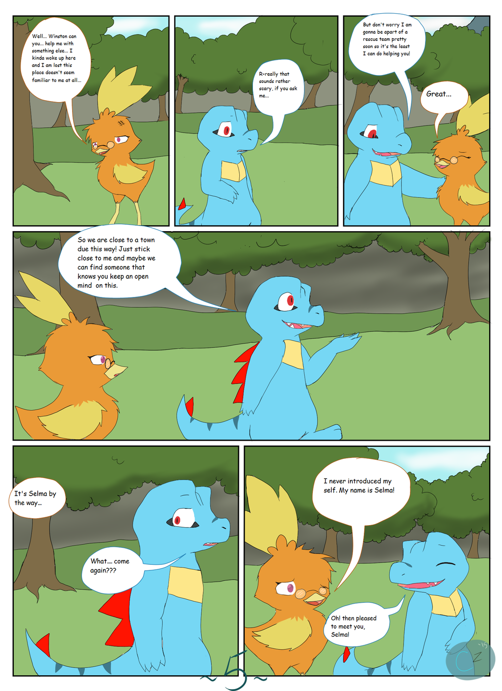 The Adventures of Team Rosewood: Ch. 1 - Pg. 5