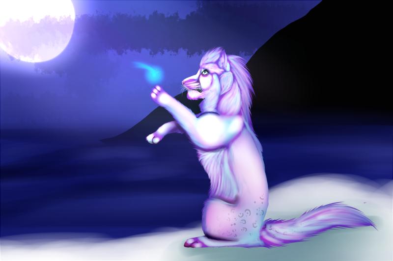 Shedu: Soul-cats Gift - Fae Visitor