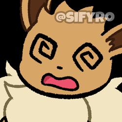 Animated Icon: Dizzy Eevee