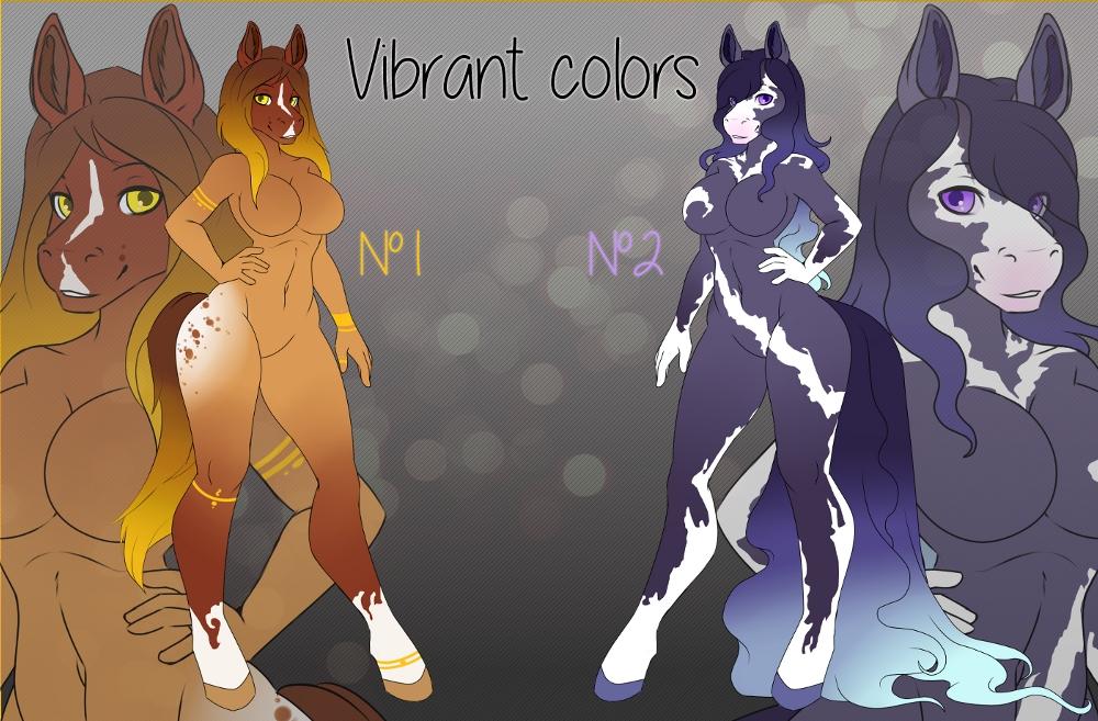 Vibrant Ladies [Quick auction]